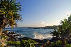 海岸视图 库存图片