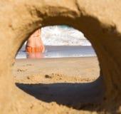 海岸视图 图库摄影