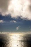 海岸视图 免版税库存图片