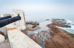 海岸角城堡,加纳,西非 免版税图库摄影
