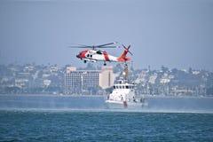 海岸警卫队抢救 库存照片