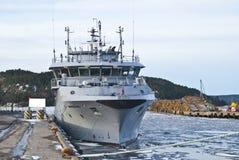 海岸警卫队船 库存照片