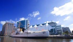 海岸警卫队船 免版税图库摄影