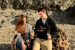 海岸酒 库存图片