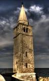 海岸钟楼 库存图片