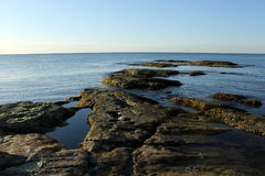 海岸风景 免版税图库摄影