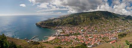 海岸马德拉岛 库存图片