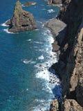 海岸马德拉岛 免版税图库摄影