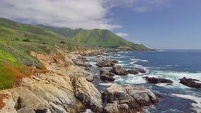 海岸高速公路太平洋 影视素材