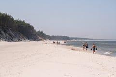 海岸,波罗的海Å  eba 库存图片