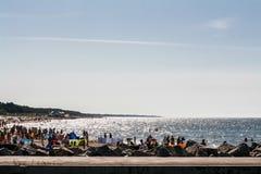 海岸,波罗的海Å  eba 免版税库存图片