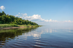 海岸,海滩边 免版税库存图片
