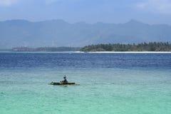 Gilli海岛lombok巴厘岛印度尼西亚 免版税图库摄影