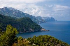海岸mallorca西方的西班牙 免版税图库摄影
