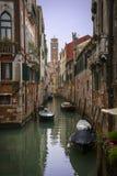 海峡在威尼斯 免版税图库摄影
