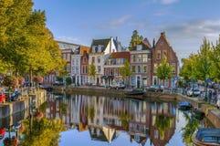 海峡在莱顿,荷兰 免版税库存图片