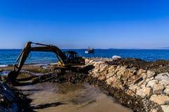 海峡维护地区 库存照片