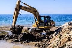 海峡维护地区 免版税库存照片