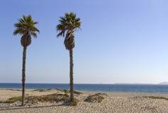 海峡群岛如被看见从曼德勒海滩,加州 库存图片