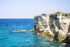 海峭壁在一个夏日 库存照片
