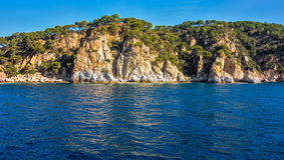 海峭壁 免版税图库摄影