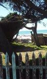 海峭壁 库存照片