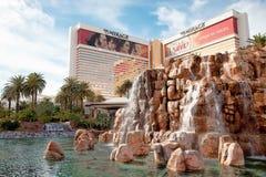 海市蜃楼、旅馆和赌博娱乐场,拉斯维加斯, NV 免版税库存照片