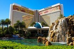 海市蜃楼、旅馆&赌博娱乐场,拉斯维加斯, NV 免版税库存照片