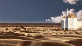 海市蜃楼在沙漠 股票视频