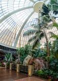 海市蜃楼旅馆和赌博娱乐场-拉斯维加斯,内华达,美国内部  免版税图库摄影