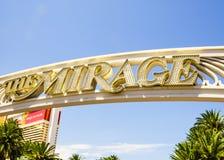 海市蜃楼旅馆和赌博娱乐场 免版税库存图片