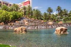 海市蜃楼旅馆和赌博娱乐场 免版税库存照片
