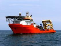 海底的潜水船 免版税库存图片