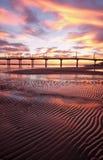 滨海弗兰卡维拉码头  库存照片