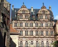 海得尔堡城堡 免版税库存照片