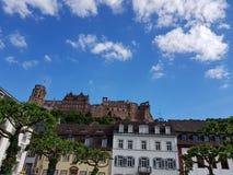 海得尔堡城堡 免版税图库摄影