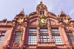 海得尔堡大学 免版税库存照片