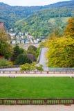 海得尔堡,德国Castl  免版税图库摄影