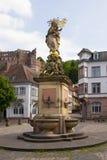 海得尔堡-亚丁乌特姆博格,德国,欧洲 免版税图库摄影