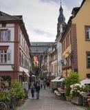 海得尔堡-亚丁乌特姆博格,德国,欧洲 免版税库存图片