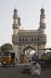海得拉巴纪念碑Charminar 库存图片
