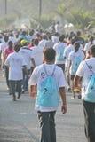 海得拉巴10K奔跑事件,印度 库存图片