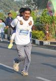 海得拉巴10K跑事件,泰伦加纳,印度 图库摄影