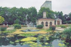 海德公园的意大利庭院,伦敦 库存图片