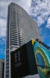 海德手段和住所在Hallandale海滩,佛罗里达 免版税库存图片