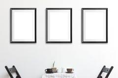海报框架 免版税库存照片