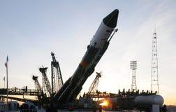 海拔进展太空船 免版税库存照片