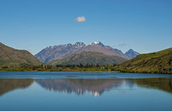 海斯湖新西兰 库存照片