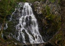 海斯秋天, Carleton县,新不伦瑞克,加拿大 库存照片
