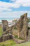 海斯廷斯城堡 免版税库存图片